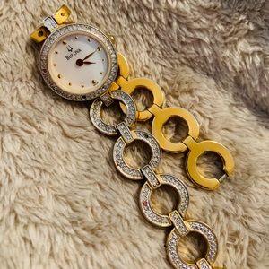 BULOVA Golden Elegant Wrist Watch